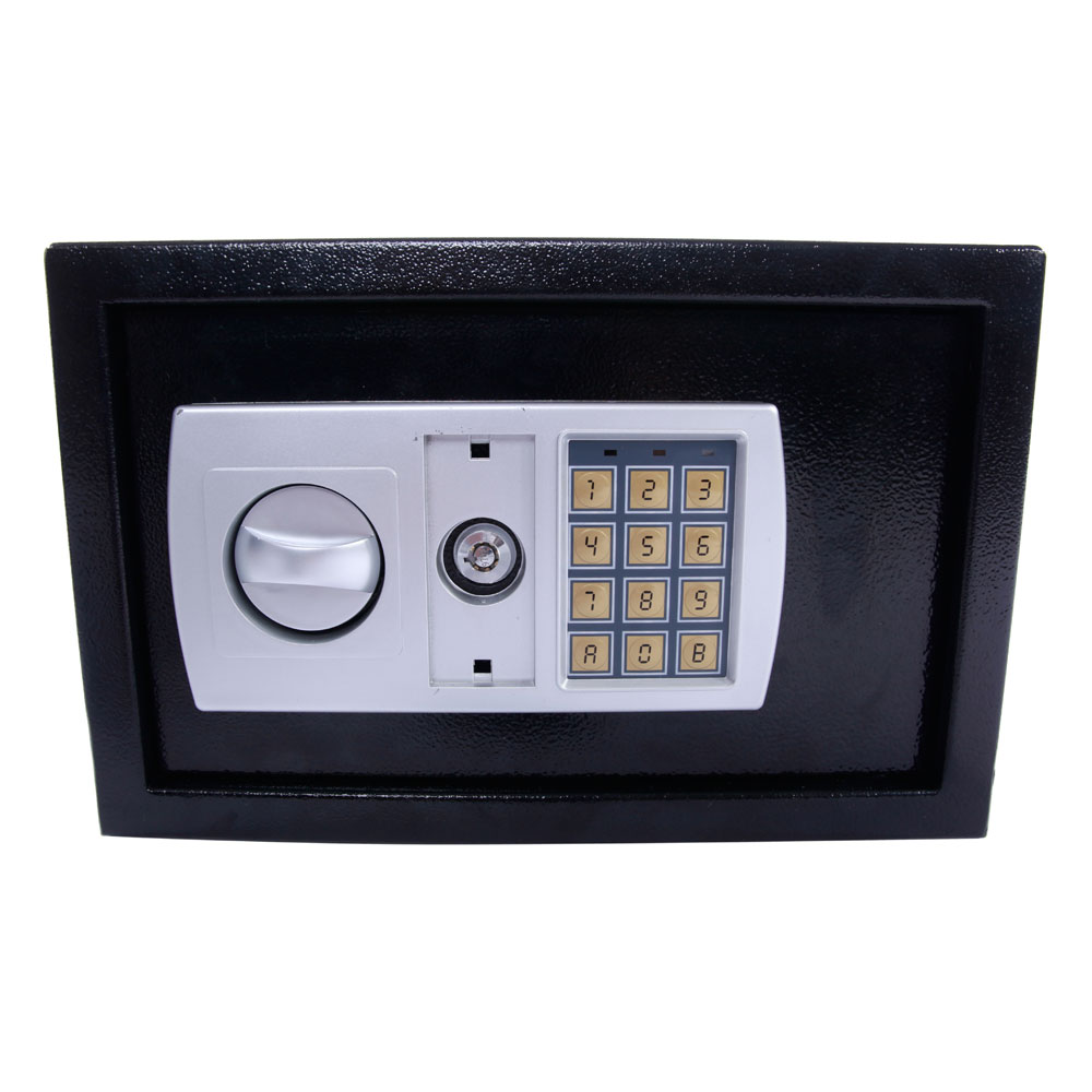 new black 12 5 electronic digital lock keypad safe box cash jewelry gun safe ebay. Black Bedroom Furniture Sets. Home Design Ideas