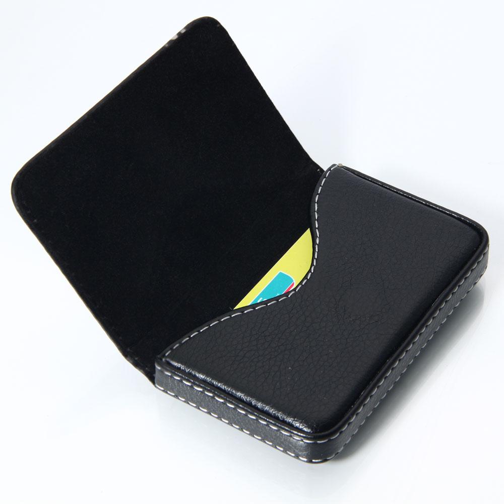 .Wilbest Bi-fold Slim Gents Wallet with Card Slots Brownish Black Gift Box Set Automatic Pop-up Men Card Case Wallet EDC Genuine Leather Wallets Mens Credit Card Holder RFID Blocking Money Pocket