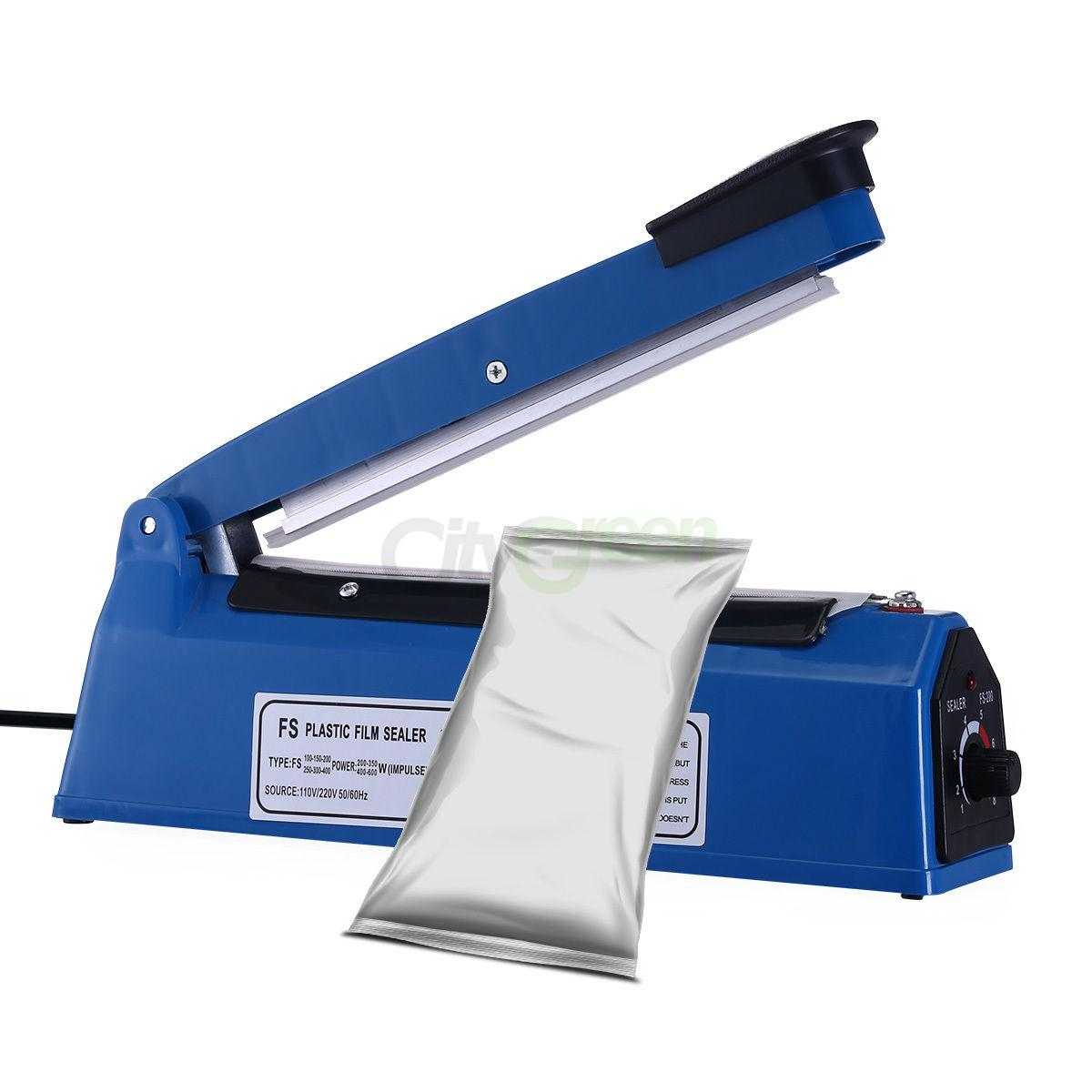 Manual and industrial bag sealer. Main types of equipment 33