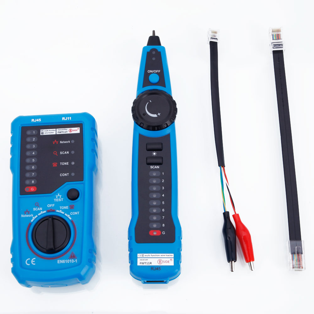fwt11 rj11 rj45 cable telephone network cable toner wire line tracker tester ebay. Black Bedroom Furniture Sets. Home Design Ideas