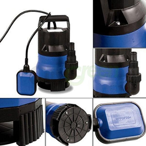 1 2hp 2000gph submersible dirty water pump clean flooding for Pond drain pump
