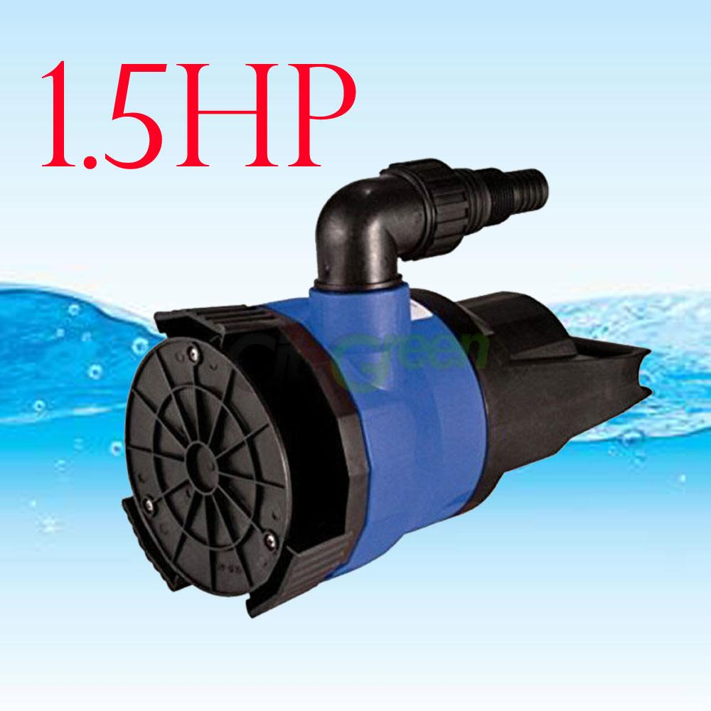 Dirty water pump 1 5hp 110v durable submersible pool pond for Water pump to drain pond