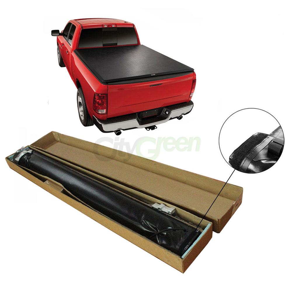 Dodge Bed Covers: Lock Roll Up Soft Tonneau Cover For 94-01 Dodge Ram 1500