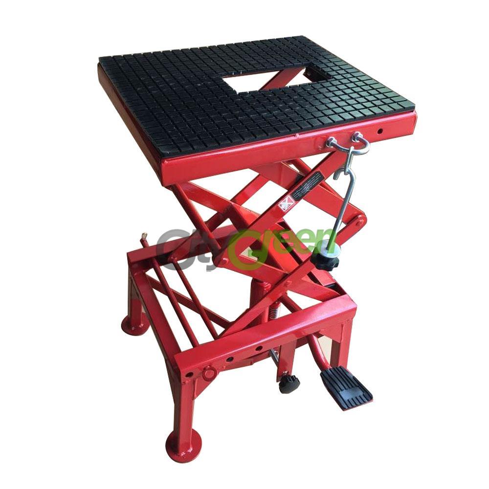 Hydraulic Scissor Car Jack : Lb motorcycle hydraulic scissor floor jack lift stand