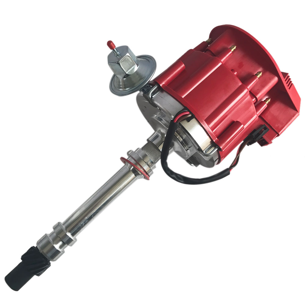 350 Chevy Engine In Jaguar: For SBC Chevy Performance HEI Distributor Red Super Coil