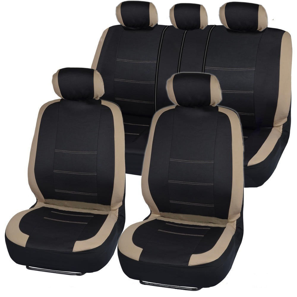 how to clean beige cloth car seats