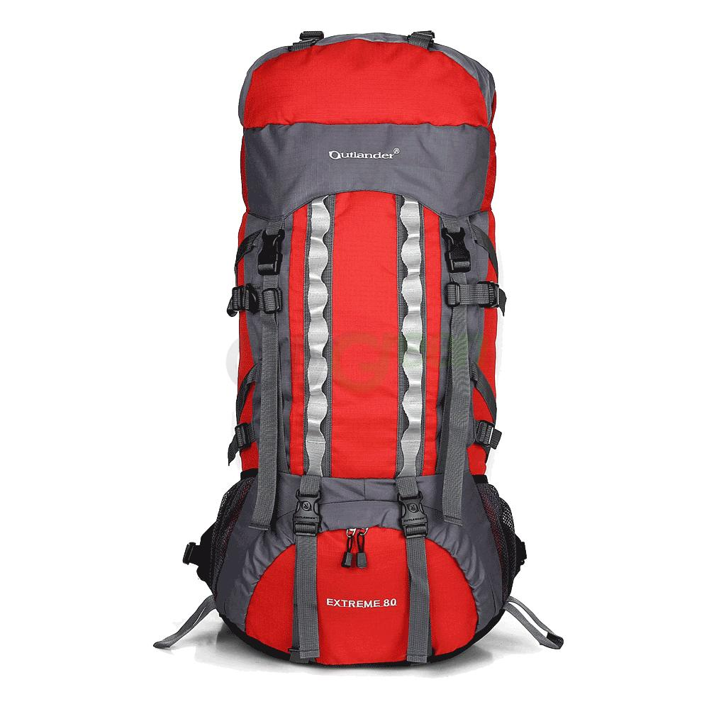 Camping Hiking Backpacking: 80L Outdoor Sport Camping Hiking Climbing Large Capacity