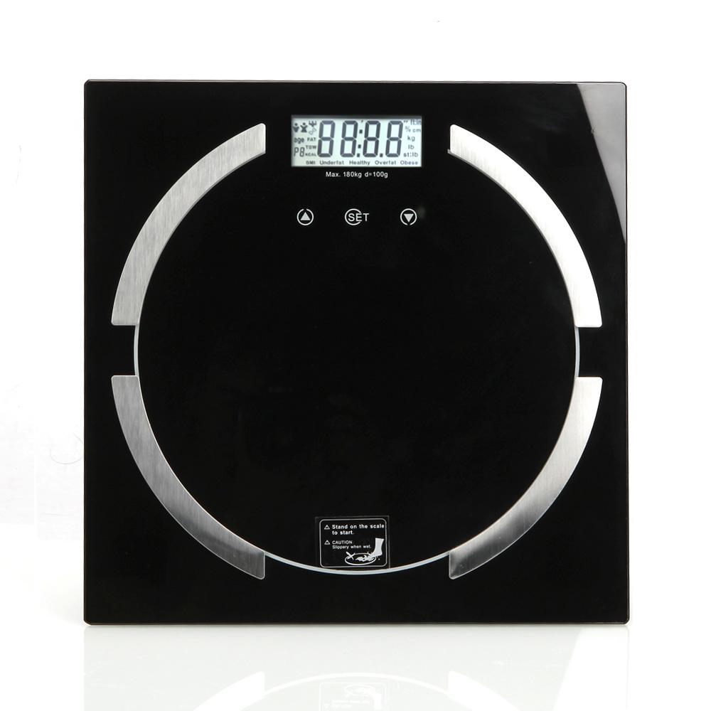 Bathroom scale body fat - Digital Bathroom Scale Body Fat Hydration Muscle Weight Scale 180kg 396lbs