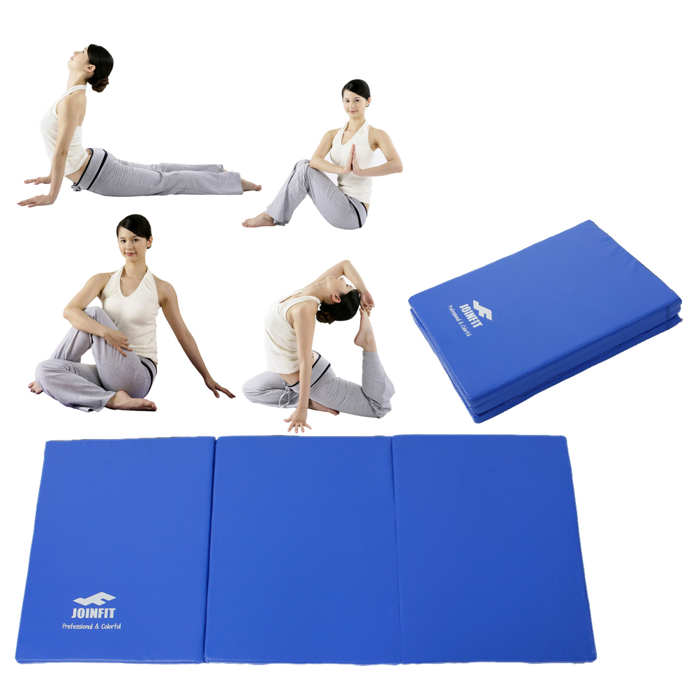 Workout Welcome Mat: Gymnastics Fitness Mat Panel Aerobics Folding Exercise