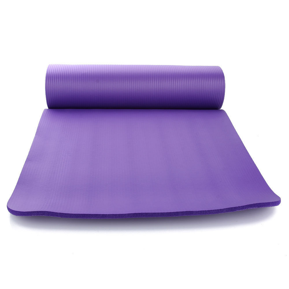 New Thick 10mm Non-Slip Yoga Mat Pad Exercise Fitness