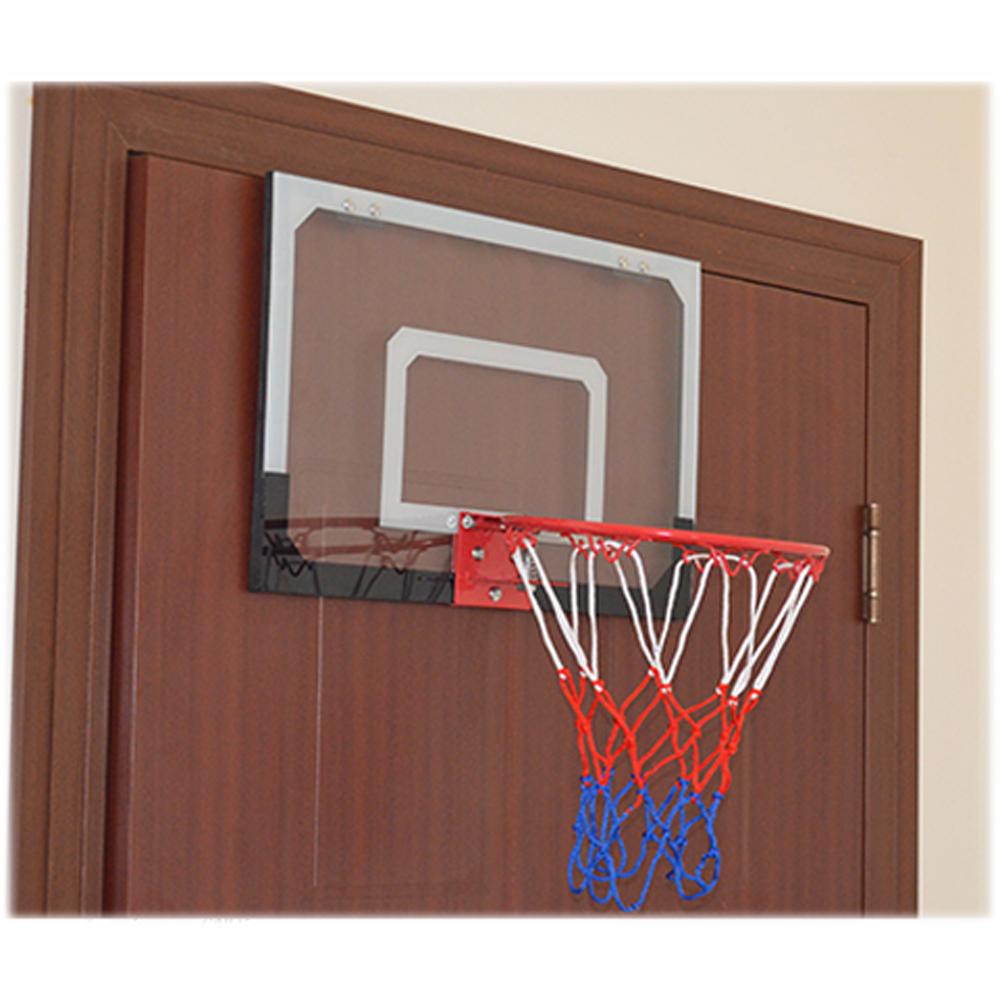 Indoor Mini Basketball Hoop Backboard System Home Office Room Door ...
