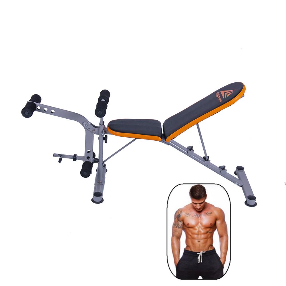 Powerlifting Bench Workout: Adjustable Bench Press Flat Incline Decline Weight Workout