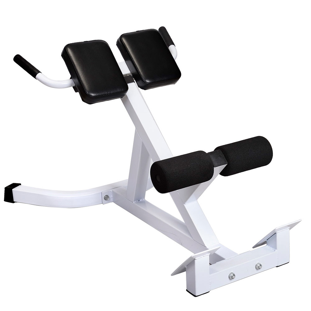 Roman Chair Extension Hyperextension AB Bench Gym Abdominal Strengthen  Exercise