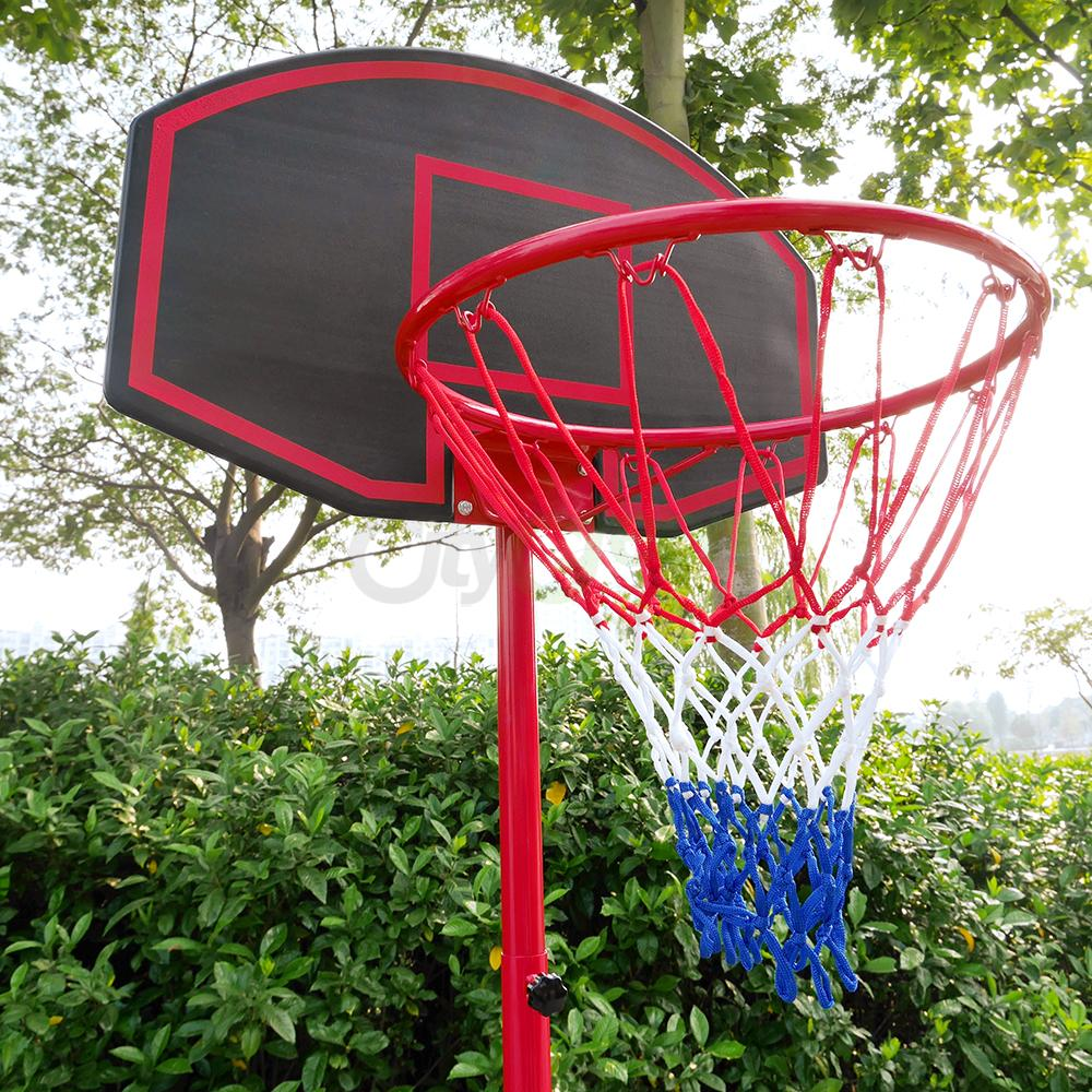 Basketball Hoop Adjustable Backboard Rim Portable Indoor