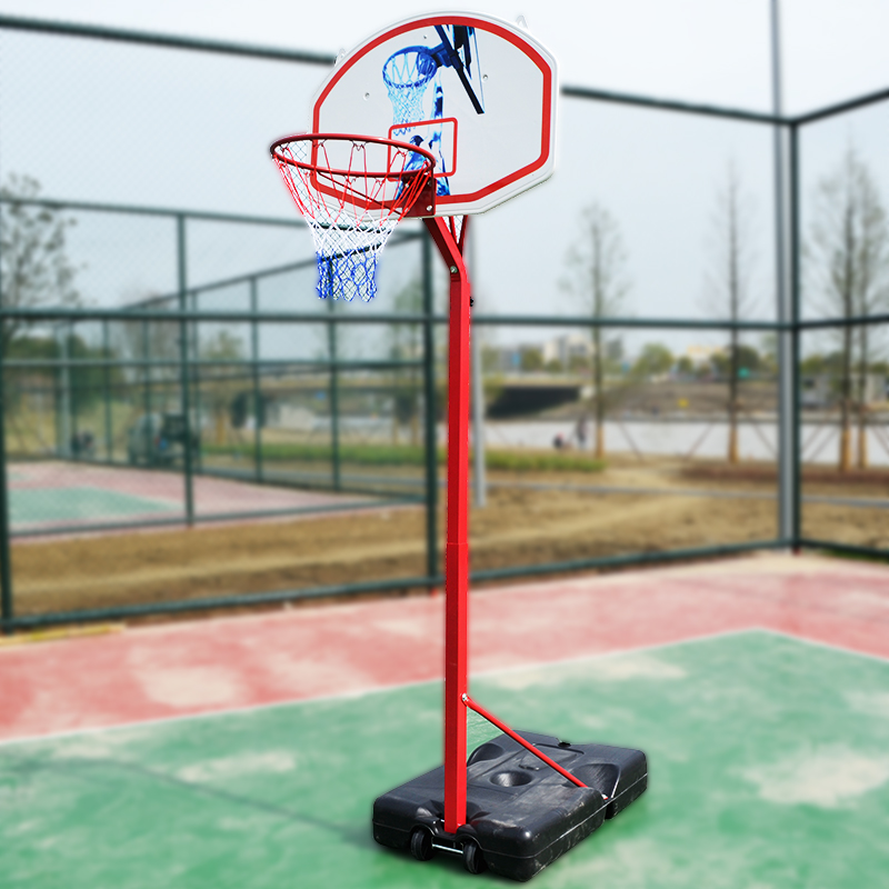 Portable Basketball Court : Portable outdoor ft kids youth basketball court goal