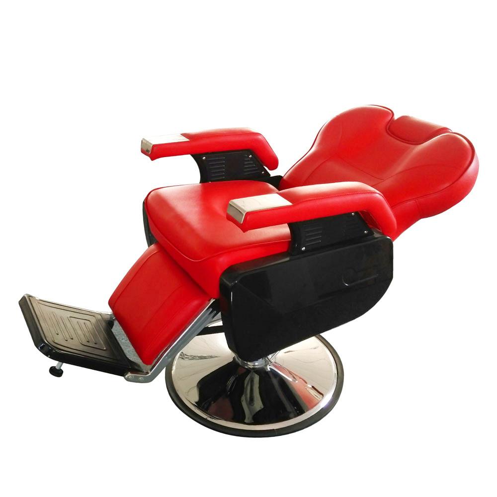 Elegant 2~Barber Shop Red Fashion Hydraulic Recline Salon Chairs Hair Styling  Beauty Spa