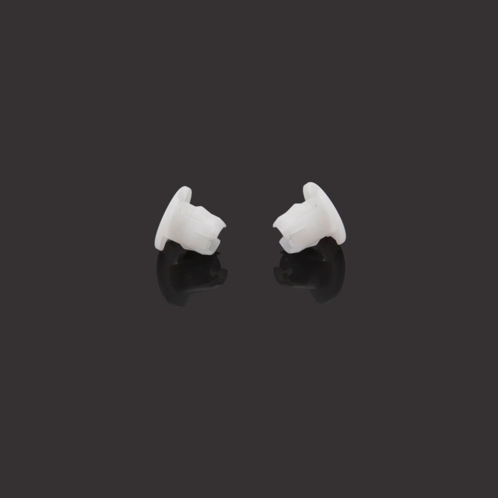 10x Plastic ID Headlight Grommet Nut FastenerRetainer Clip RH FH For Mitsubishi