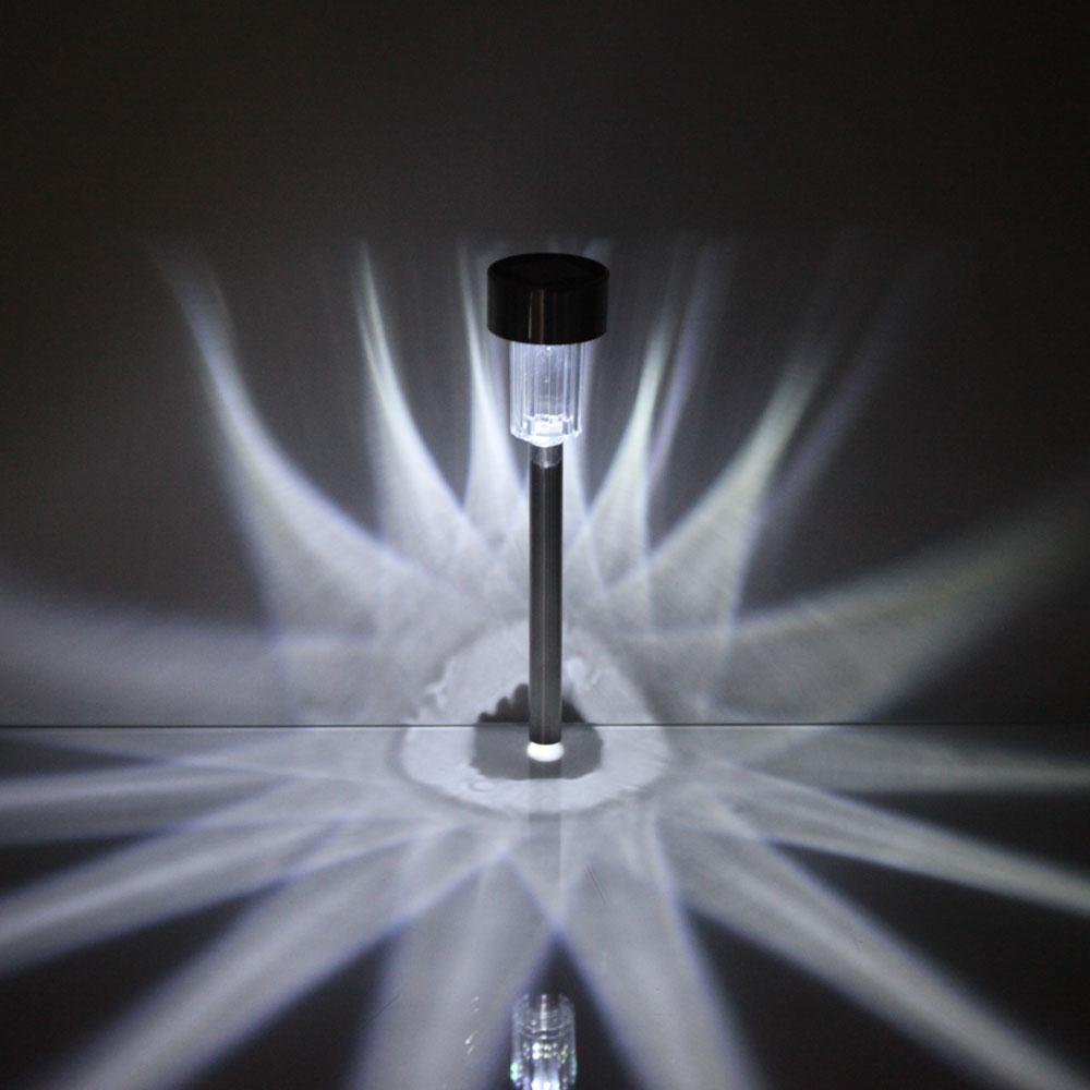 Led 10pcs outdoor garden yard solar lights lamp walkway for Led walkway lights