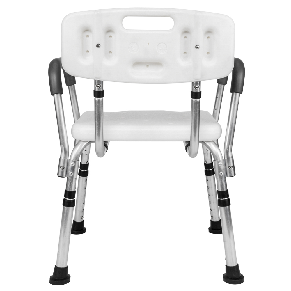 Medical Shower Chair 6 Height Adjustable Bath Tub Bench Stool Seat ...