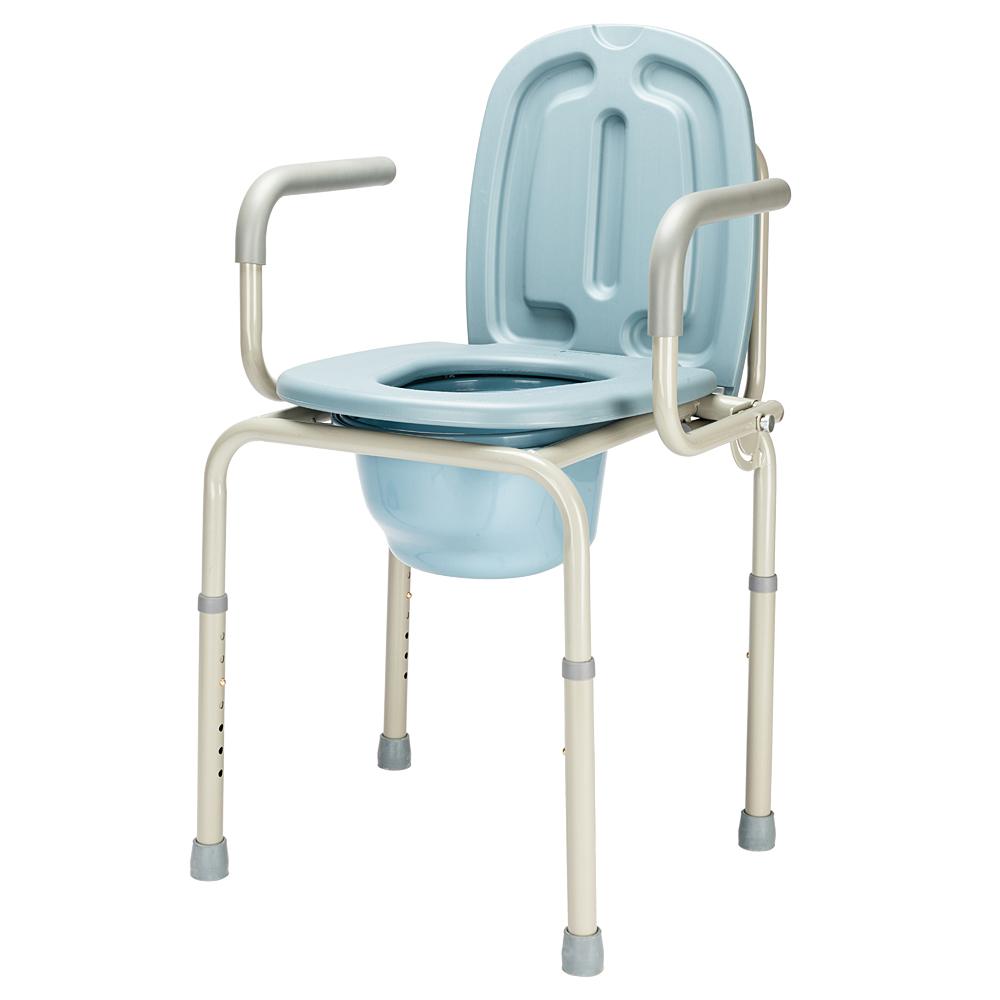 Portable Bedside Commode Toilet Seat Riser Handicap Bathroom Elderly ...