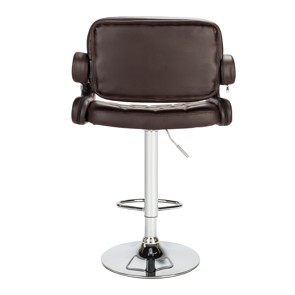 High Quality Lifting Swivel Bar Chair Rotating Adjustable Height Pub Bar Stool Chair Armrest High Density Sponge Simple Cadeira With The Best Service Bar Chairs