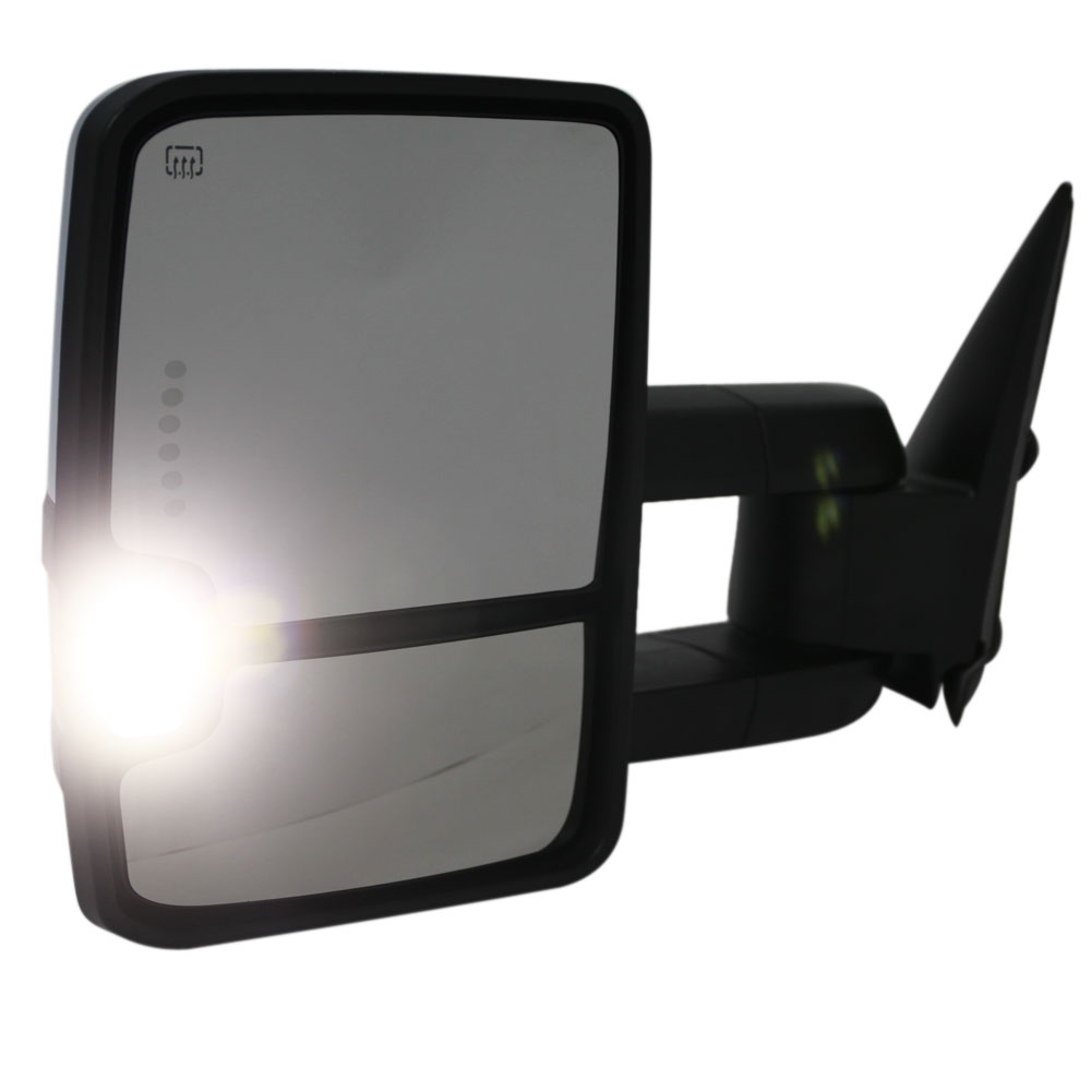 Chrome For 03 06 Chevy Silverado Sierra Towing Mirrors