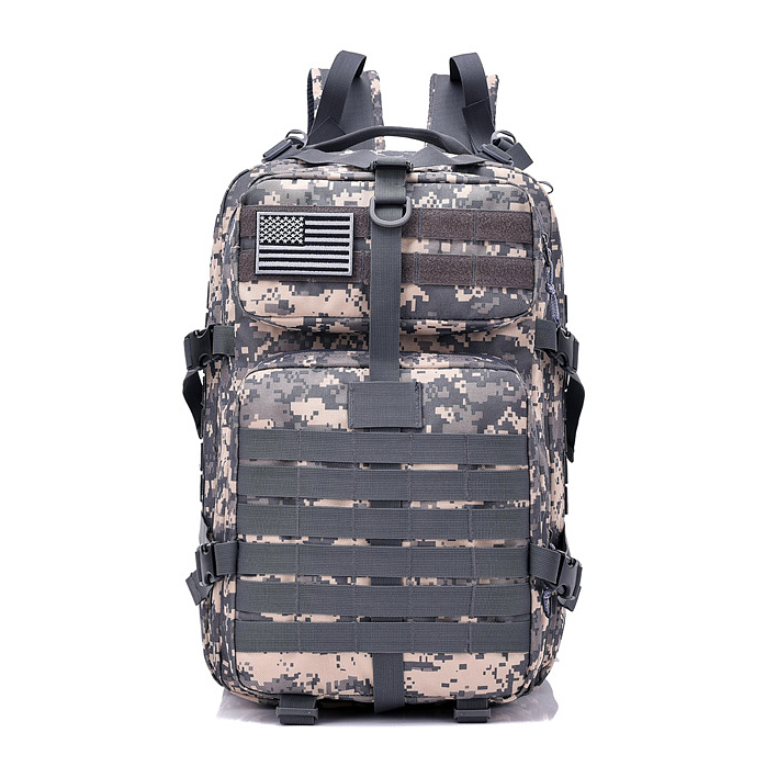e1f2fcfce622 Details about 40L Military Tactical Backpack Rucksack Hiking Camping  Daypack Trekking Bag