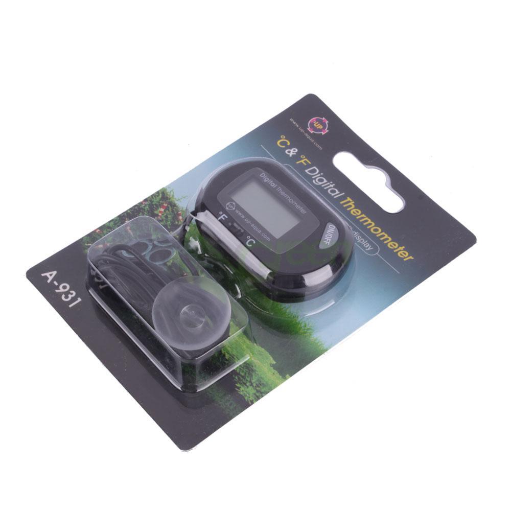 Digital lcd fish tank aquarium marine water thermometer for Fish tank thermometer