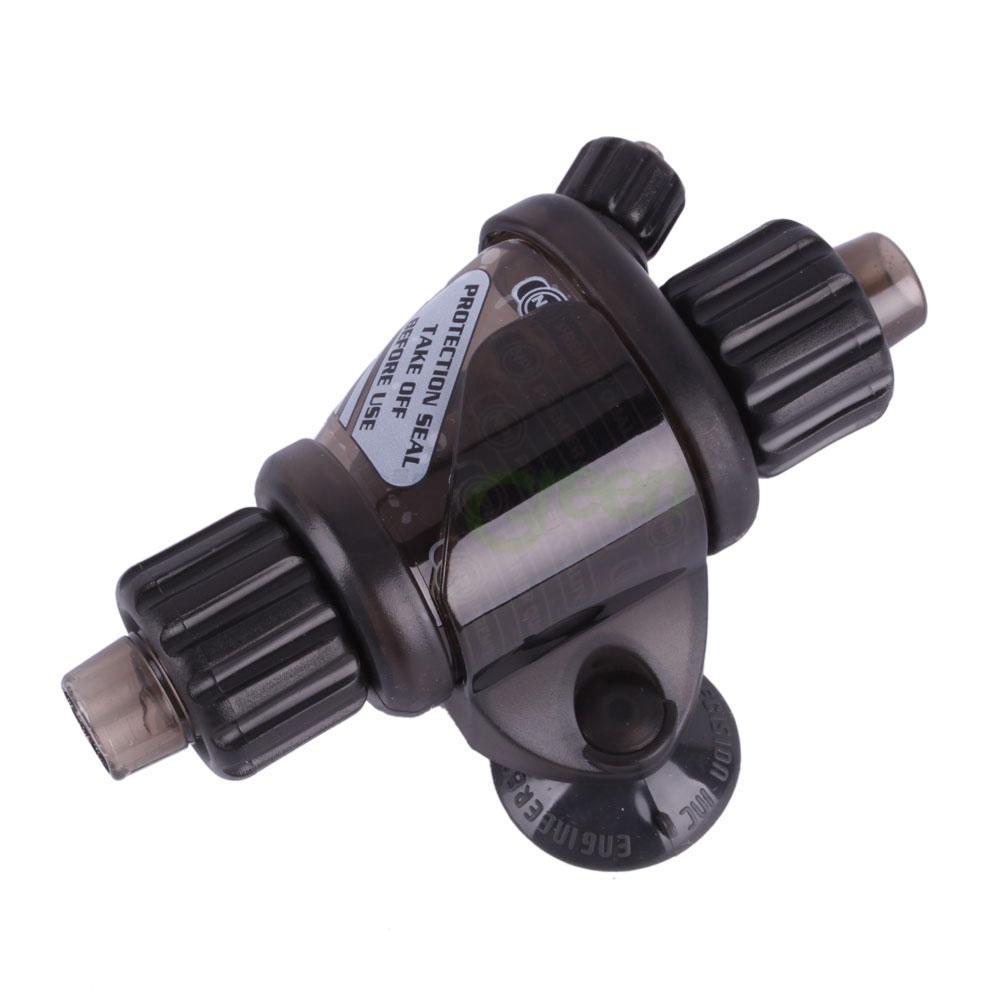 New up aqua co2 atomizer system atomic diffuser 12 16mm for Aquarium co2